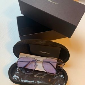 Tom Ford Unisex FT0497 58mm Sunglasses